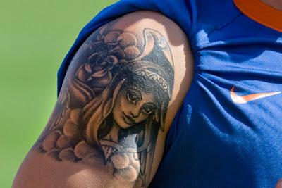 Wesley Benjamin Sneijder Tattoo