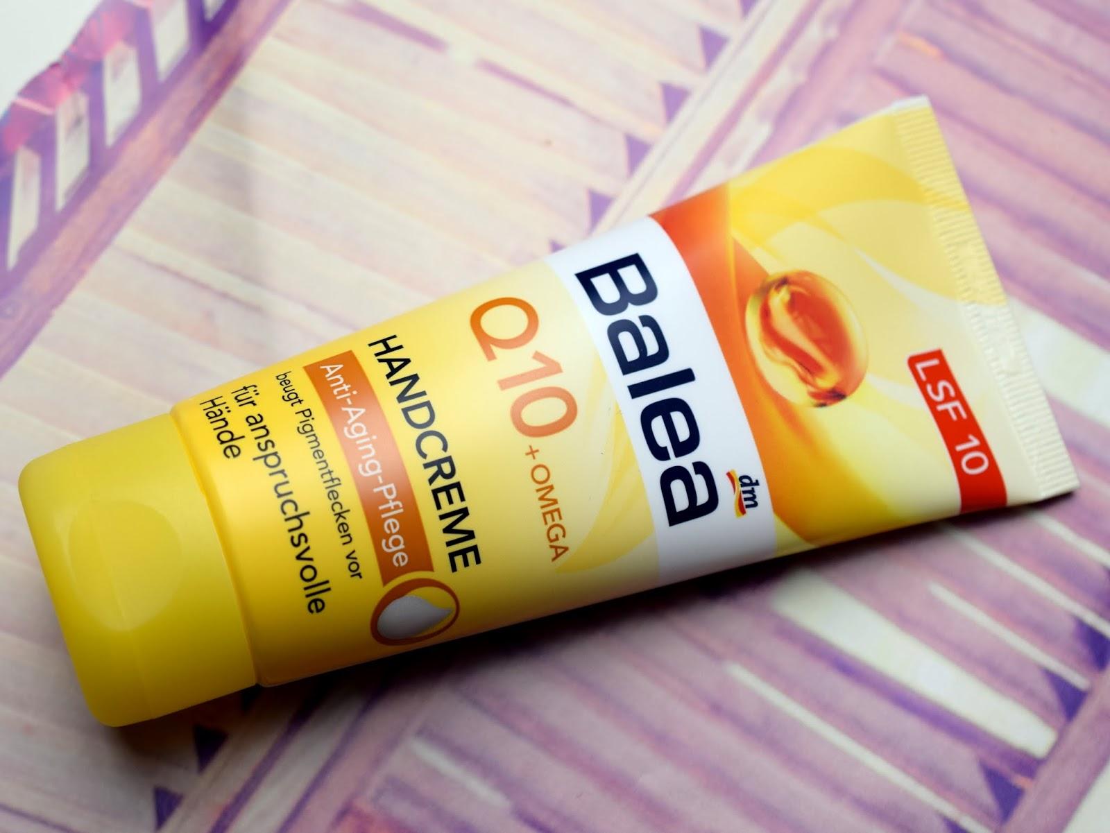 Balea Q10 + Omega Handcreme Anti-Aging Pflege
