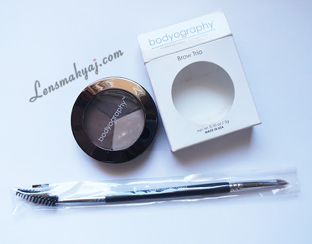 Bodyography Brow Trio