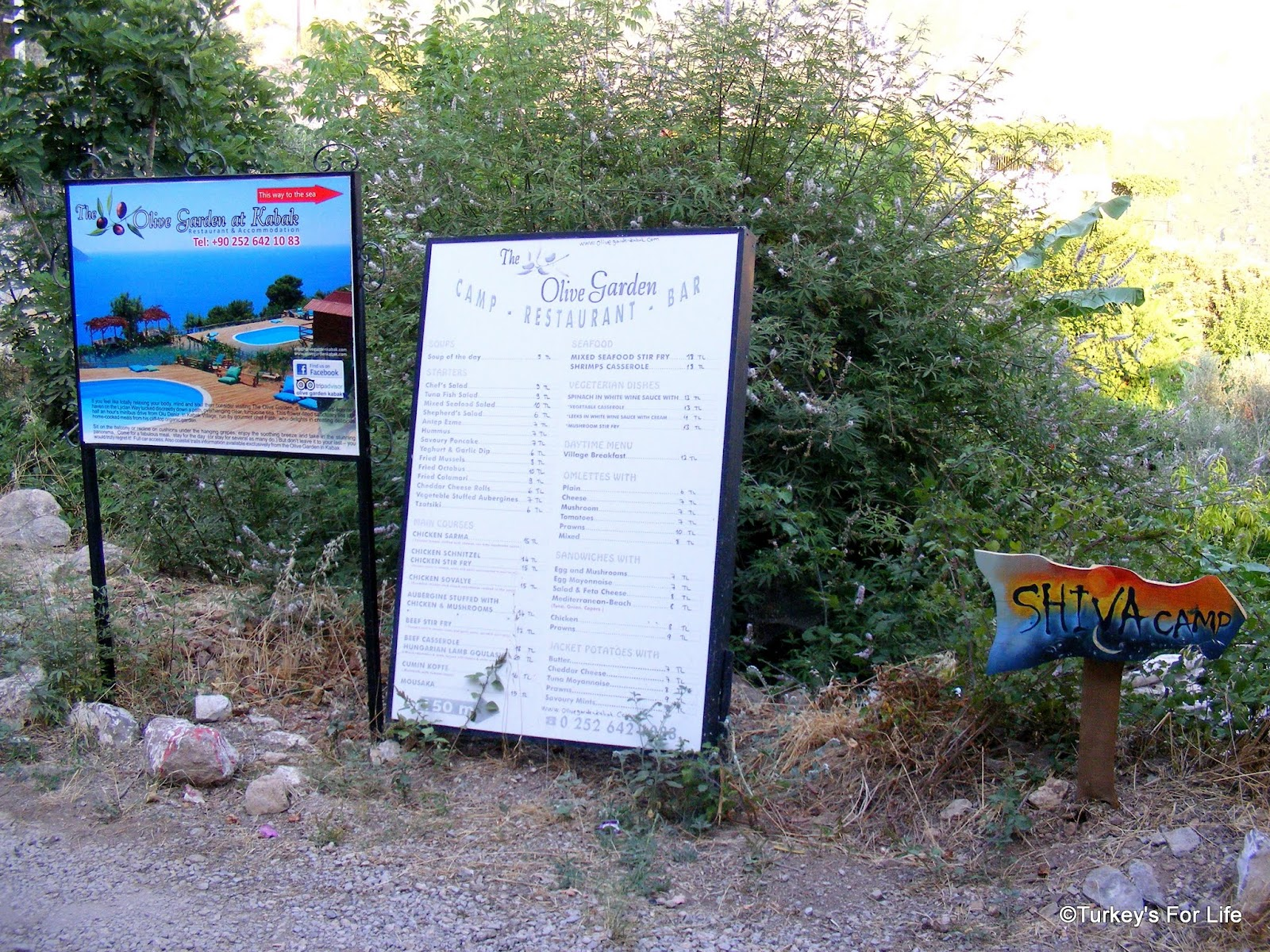L deniz to kabak in photos turkey 39 s for life for Come on down to the olive garden