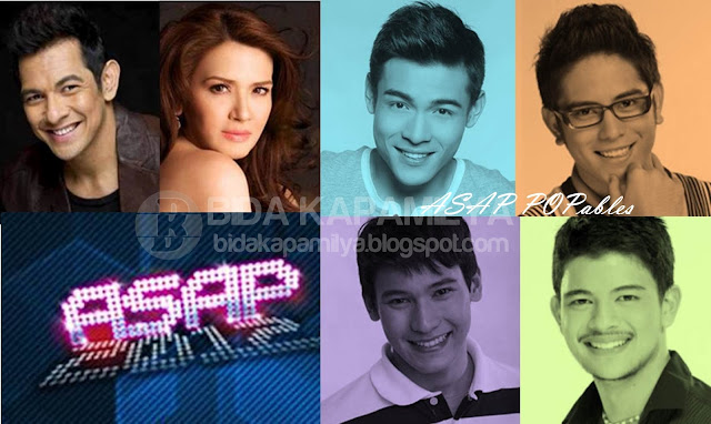 Zsa Zsa's welcome party and Gary V's birthday celebration this August 5 on ASAP 2012 Plus the introduction of the new member of ASAP POPables