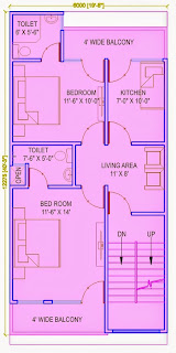 Up Country, Yamuna Expressway :: Floor Plans,Villa  810 Sq. Ft. (90 Sq. Yds.): Total Buildup Area by us-2795 Sq.ft :-First Floor Plan
