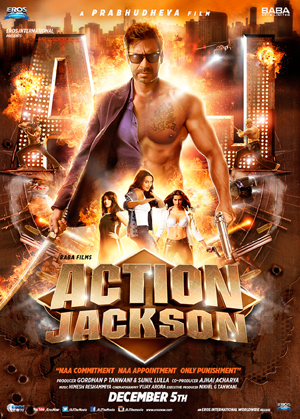 Action Jackson 2014 poster