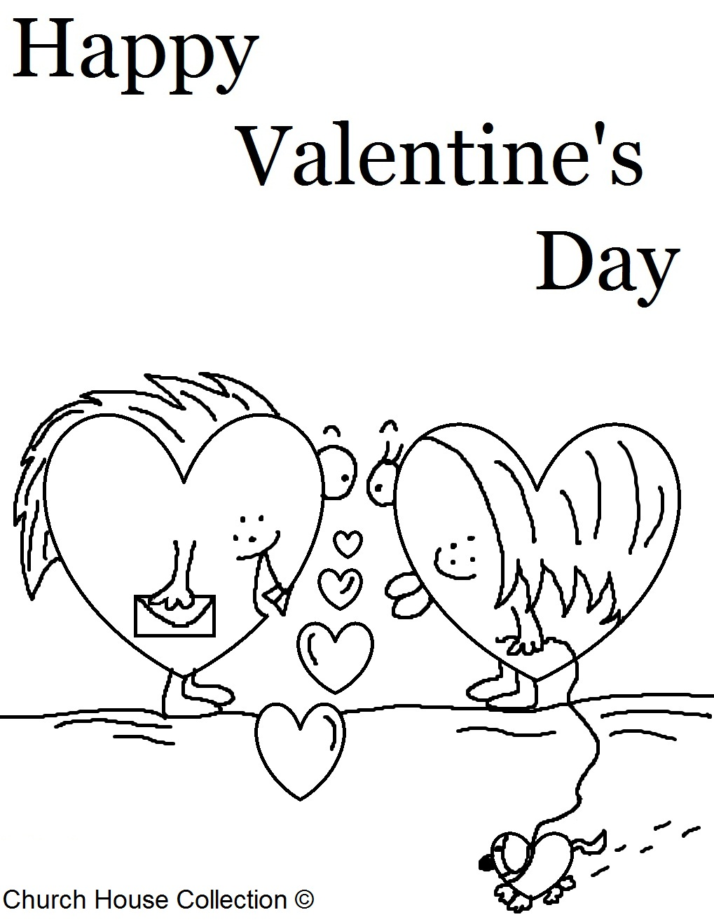 Church House Collection Blog Valentines Day Coloring