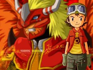 صور بطل الجزء الرابع لابطال الديجيتال**اسامة** Takuya_Kanbara_Wallp