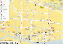 Karte Hoi An