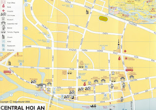 Hoi An City Map (Vietnam)