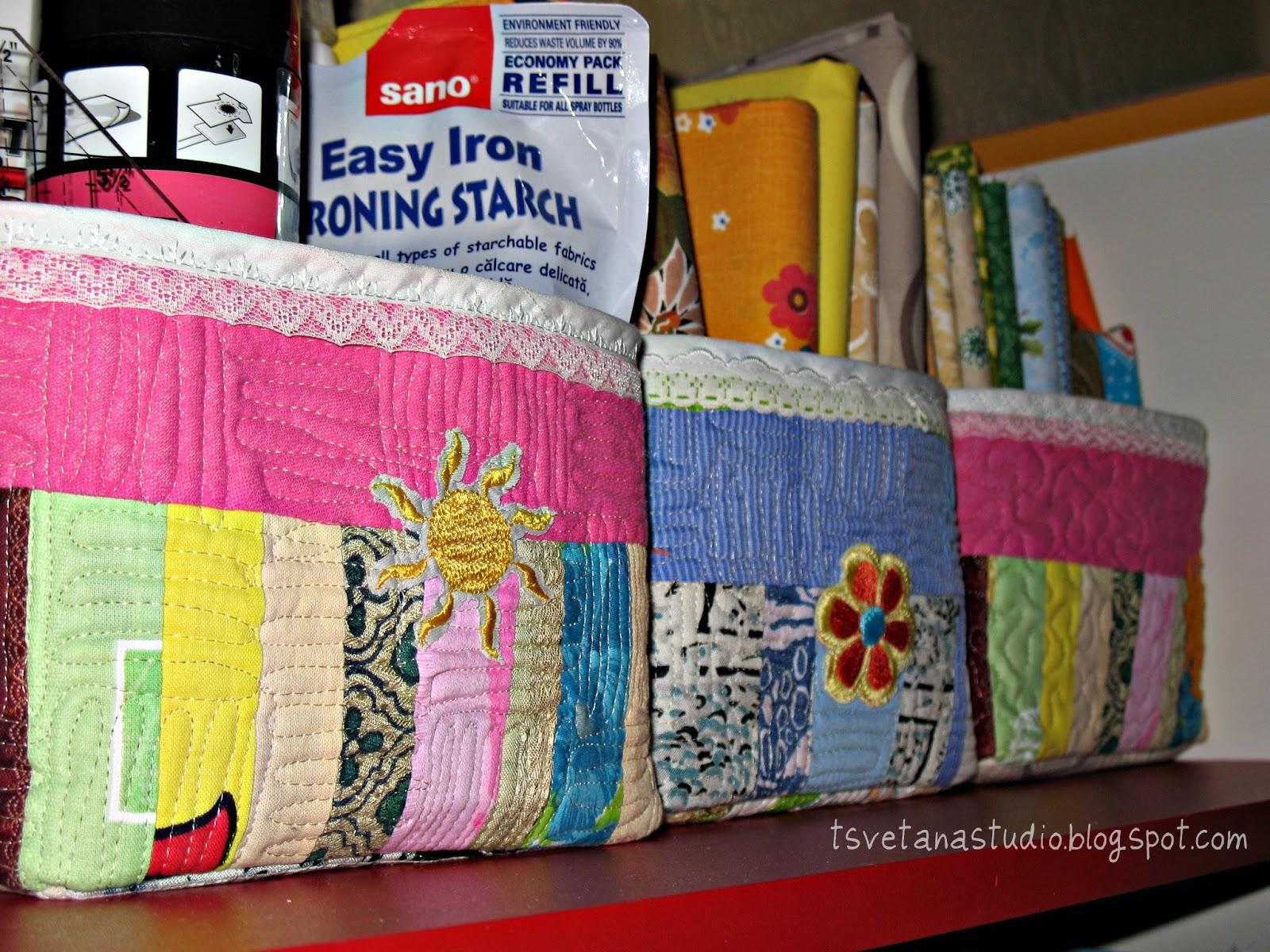 Текстильная коробка для хранения вещей своими руками 170