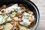 Cassola de lluç amb patates