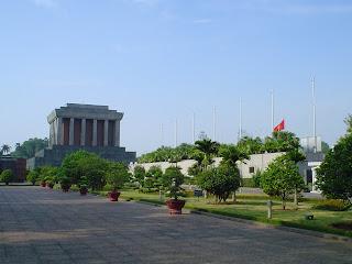 Ho Chi Minh Mausoleo. Hanoi (Vietnam)