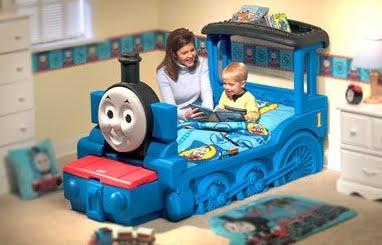Dormitorios infantiles recamaras para bebes y ni os - Camas tren para ninos ...