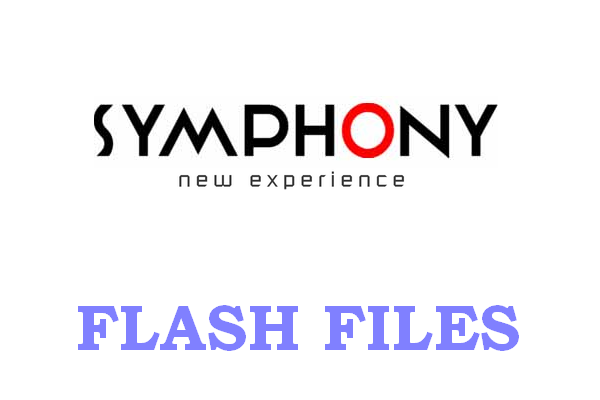ALL SYMPHONY MOBILES - FLASH FILES