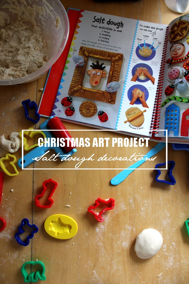 salt dough decorations, christmas art project, christmas art, todaymyway.com