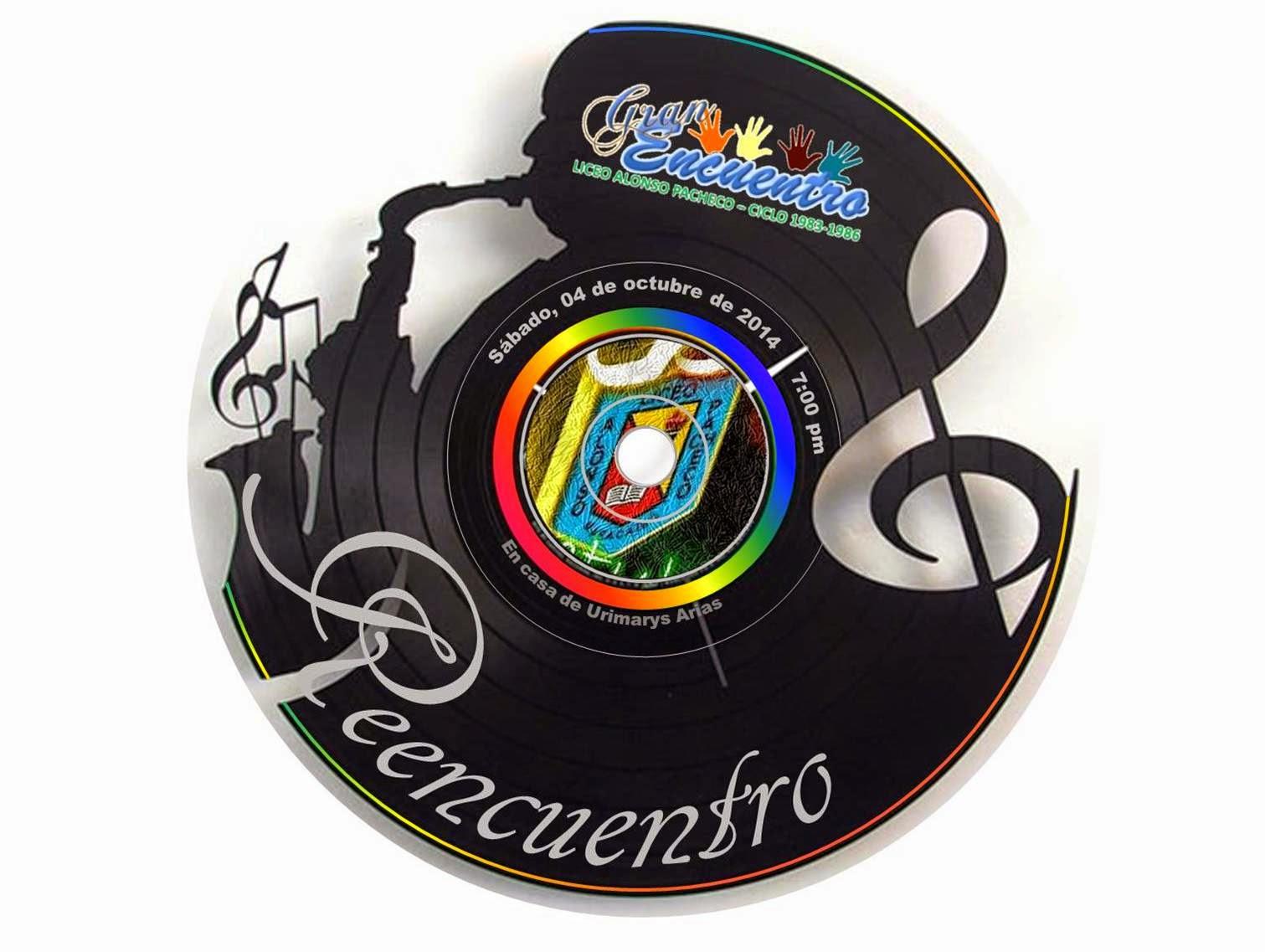 Reencuentro, Sabado. 4 de octubre de 2014 - 7pm