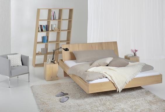 Cama Minimalista Con Espacio Portaobjetos Ideas Para Decorar - Cama-minimalista