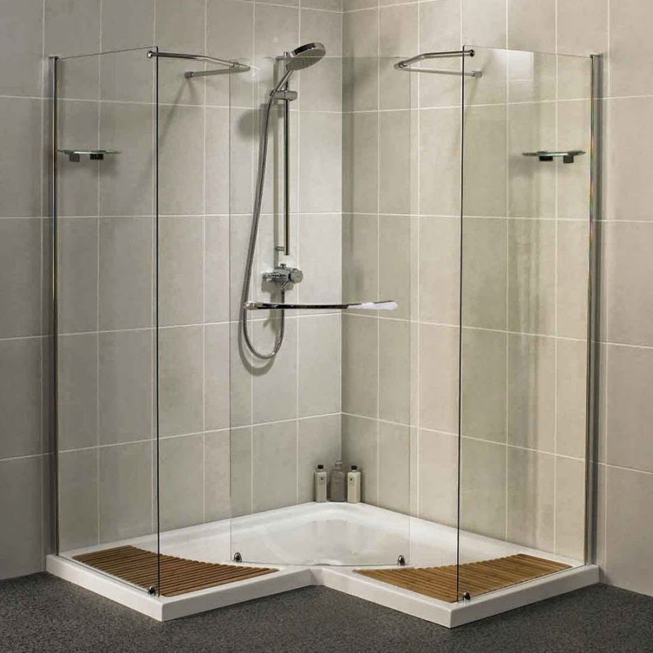 Doorless Shower Designs Inspiring