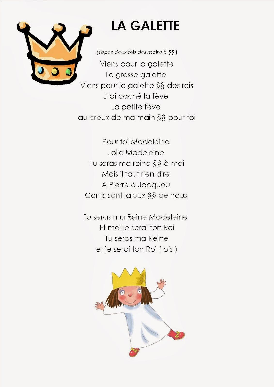 Chanson La galette GS