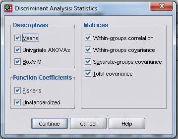 Analisis Diskriminan SPSS Proses
