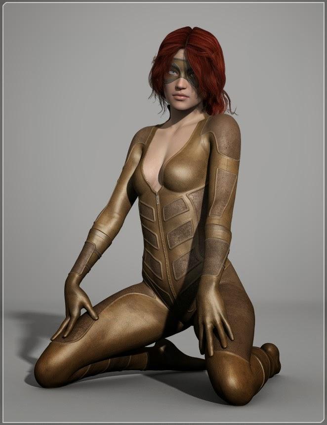 Super-héroïnes Pack pour G-Suit 2 HD
