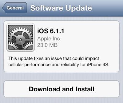 Download iOS 6.1.1 Final IPSW for iPhone, iPad, iPod