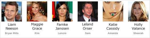 Taken (2008) - Cast