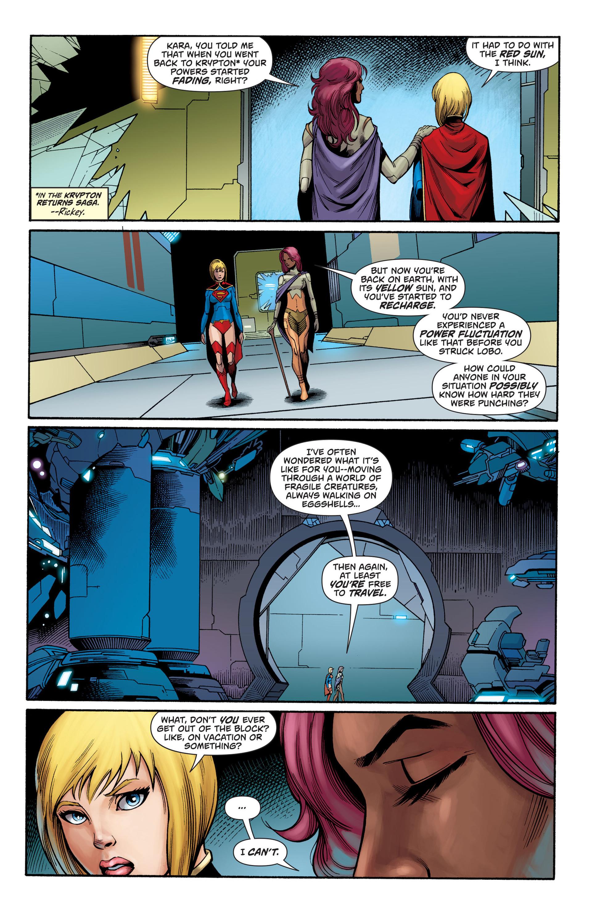 Supergirl (2011) Issue #27 #29 - English 6