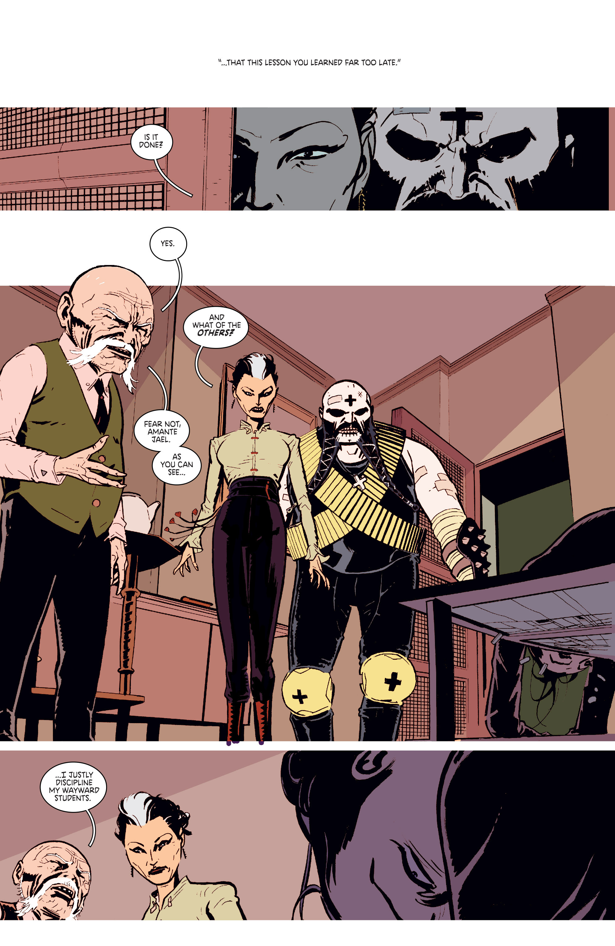 Read online Deadly Class comic -  Issue # _TPB 3 - 50