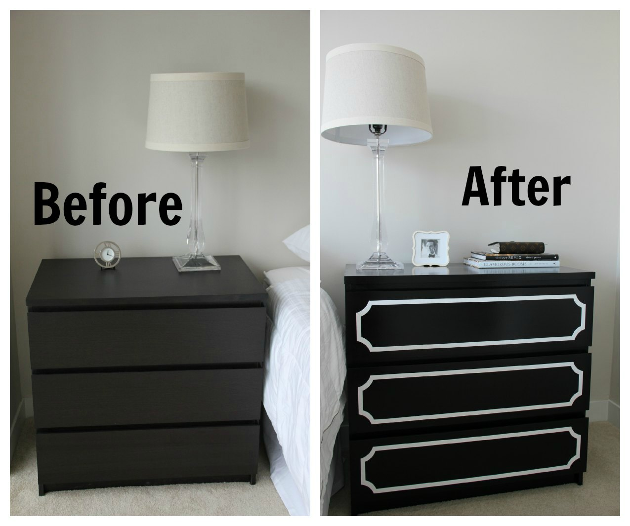 idea for ikea hacker malm chest drawer aisheiteru. Black Bedroom Furniture Sets. Home Design Ideas