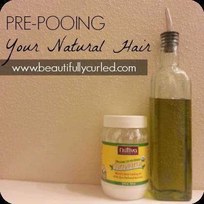 Pre-Pooing Natural Hair