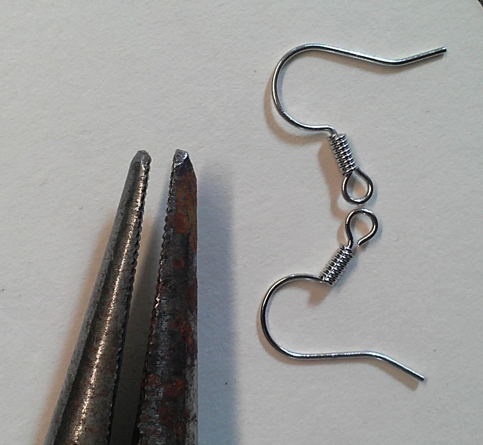2messy diy bobby pin earrings