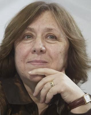 Svetlana Alexievich, Svetlana Aleksijevitj, Candidata ao Prémio Nobel da Literatura, Favorita ao Prémio Nobel da Literatura