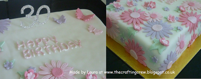 Asda Iced Birthday Cakes ~ The crafting crew cakes and yet more