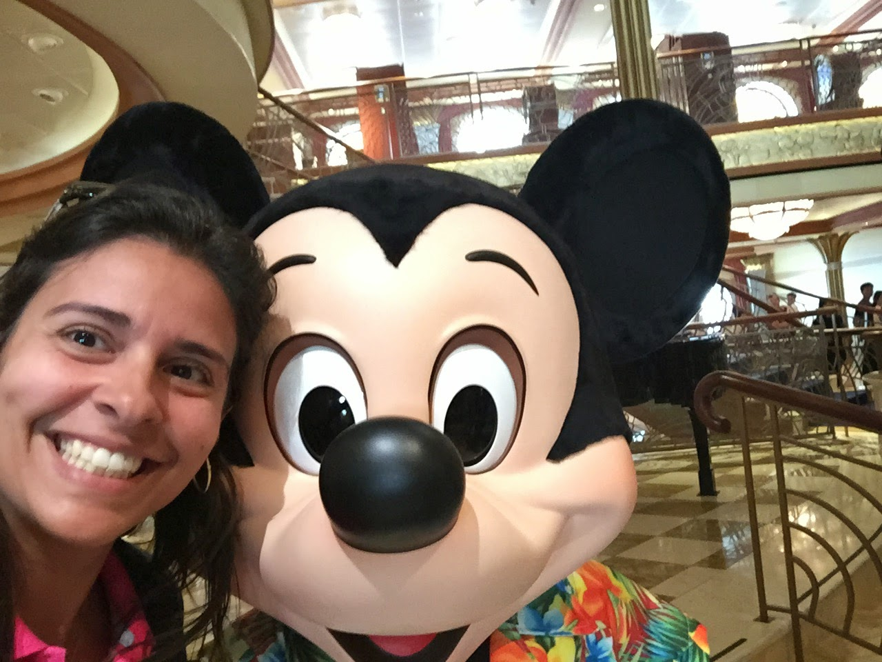 Personagens Disney Cruise