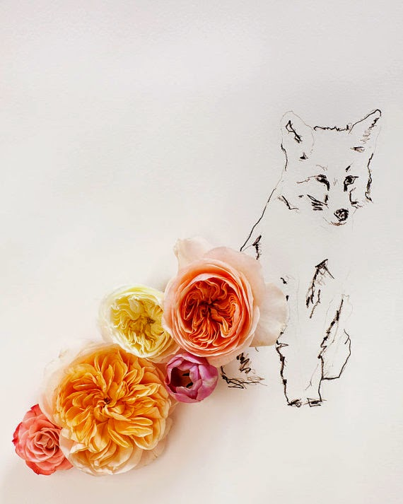 fox and flower photography by kari herer