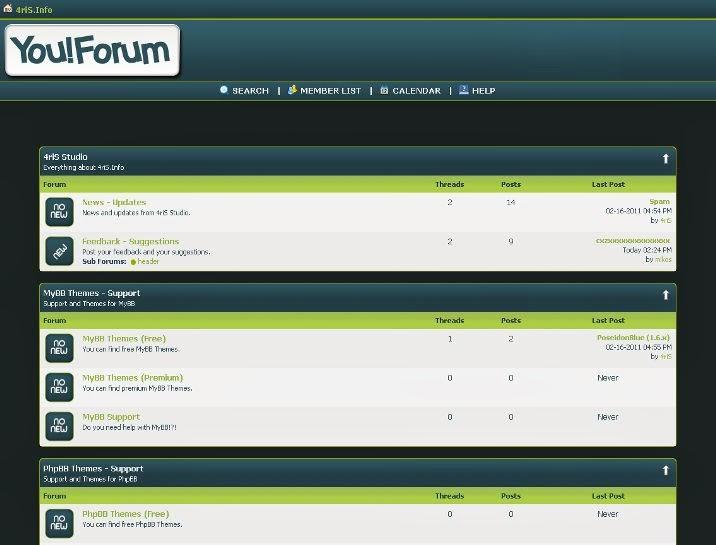 You ! Forum