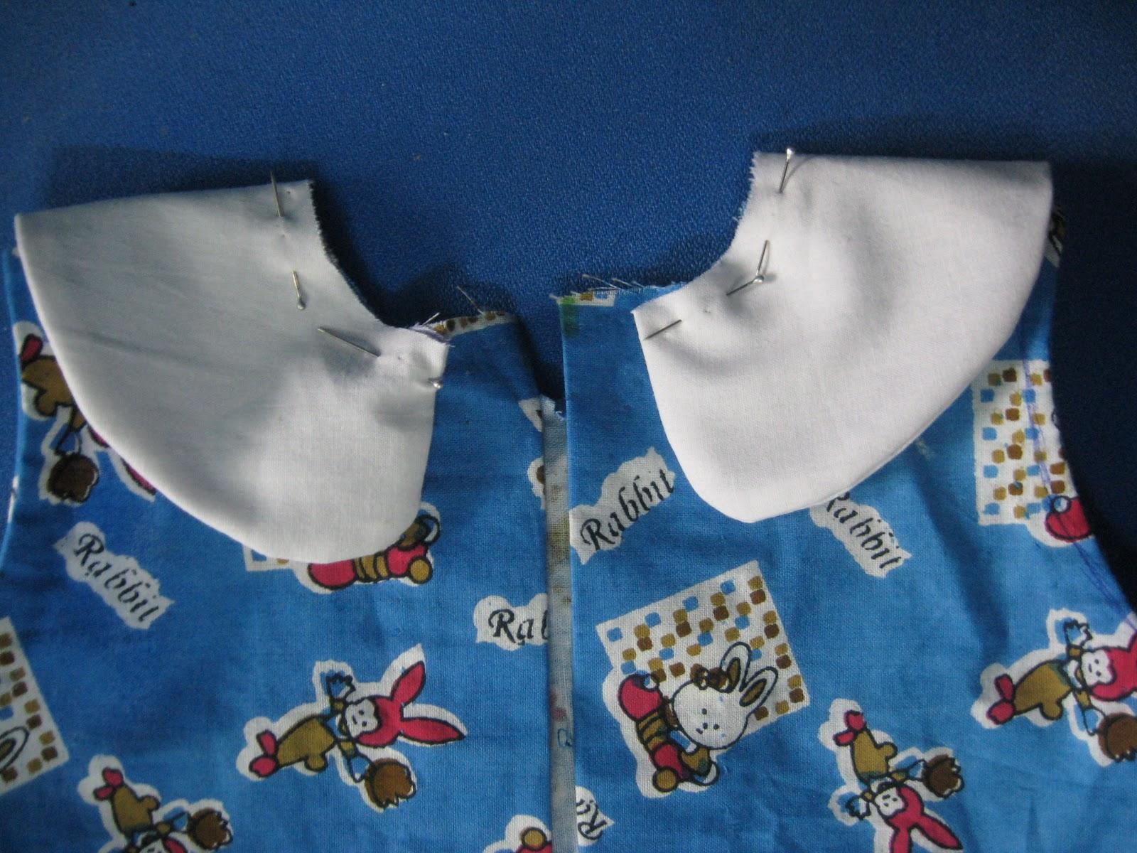 Frills and Flares Tutorial A Line Dress With Peter Pan Collar