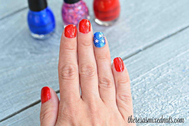 Patriotic Nail Design