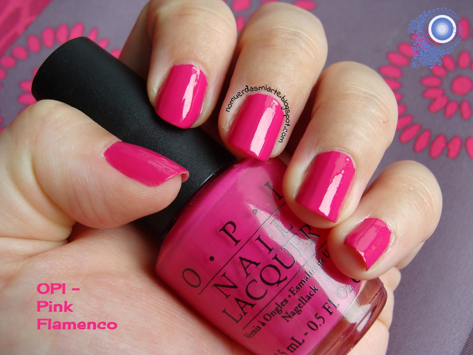 Swatch Pink Flamenco de OPI