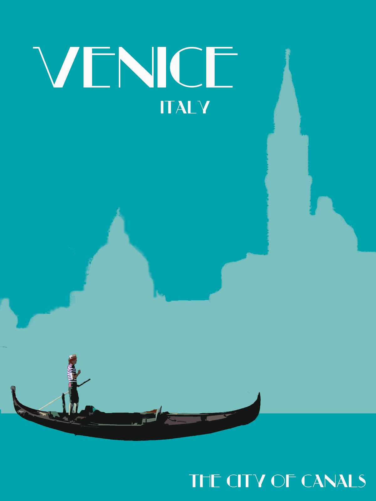 Art Deco Travel Posters: July 2012