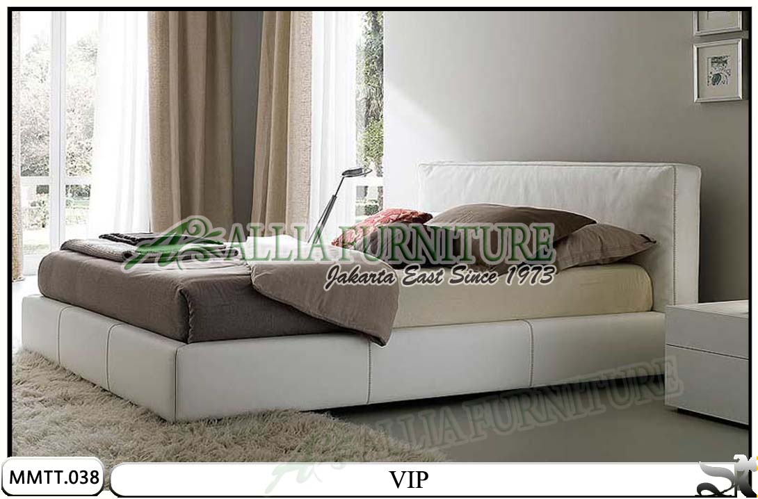 tempat tidur minimalis modern best vip allia furniture