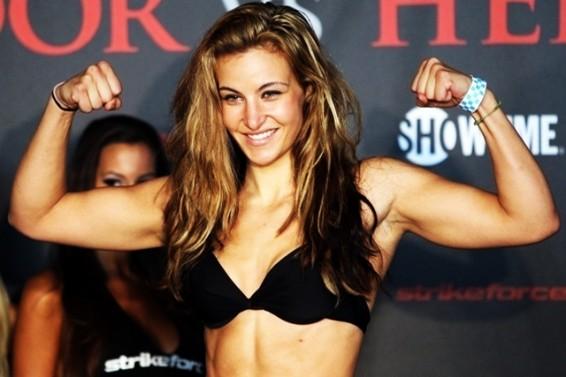 Miesha Tate Ronda Rousey Hot