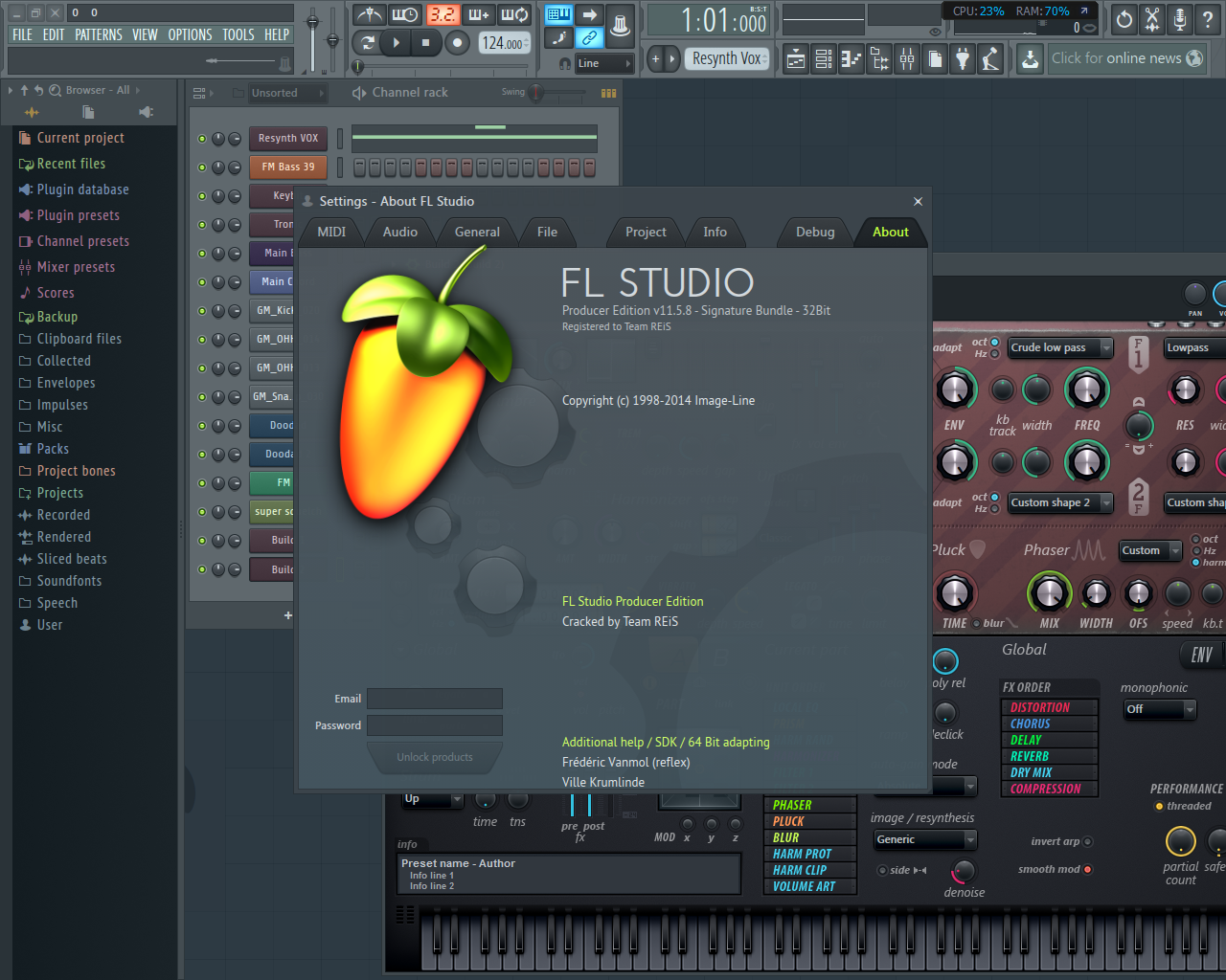 Fl studio xxl 63.pre patched pre cracked 2017 100new