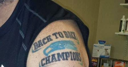 masshole sports some douchey seahawks fans got a back to back