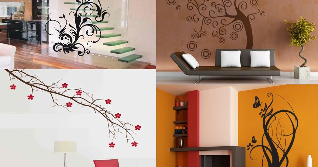 Dise os para pared colores y formas para decorar los for Diseno y decoracion de casas