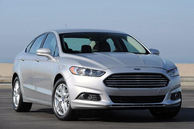 новый Ford Fusion 2013