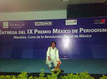 ENTREGA DEL PREMIO NACIONAL DE PERIODISMO MEXICO