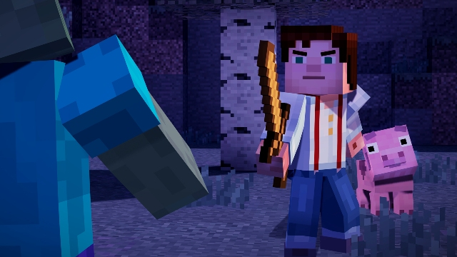 Minecraft Story Mode PC Games Gameplay