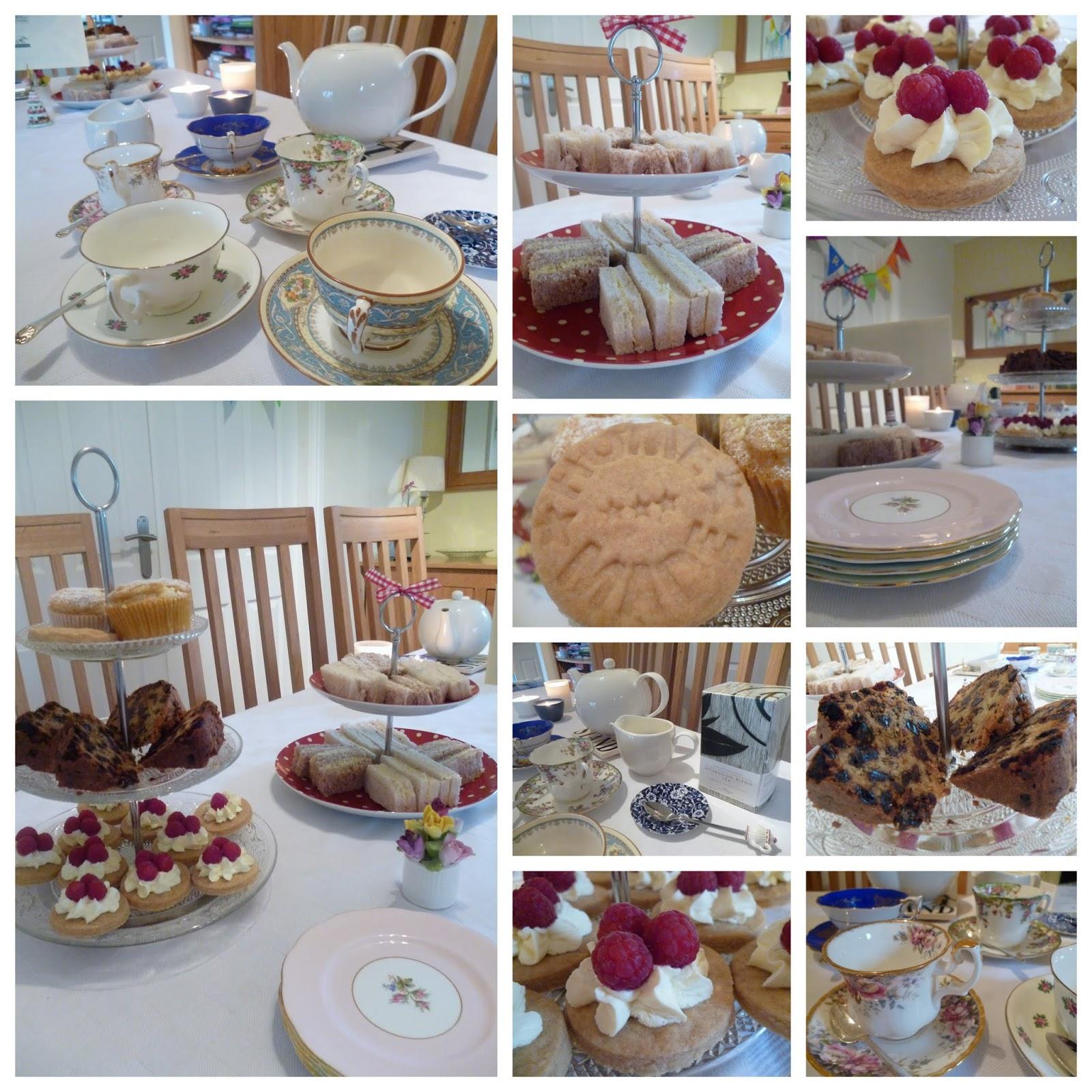 homemade afternoon tea a birthday celebration garden