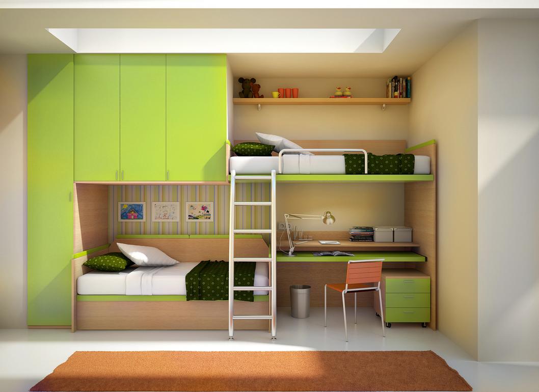 Literas para Habitación de Niños