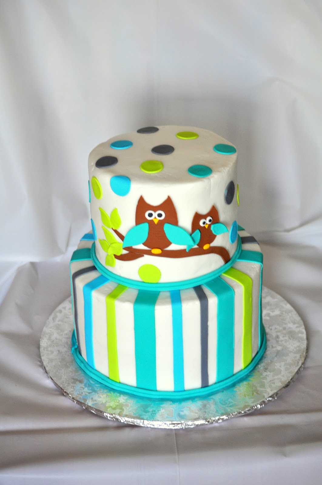 morgan 39 s cakes owl baby shower cake